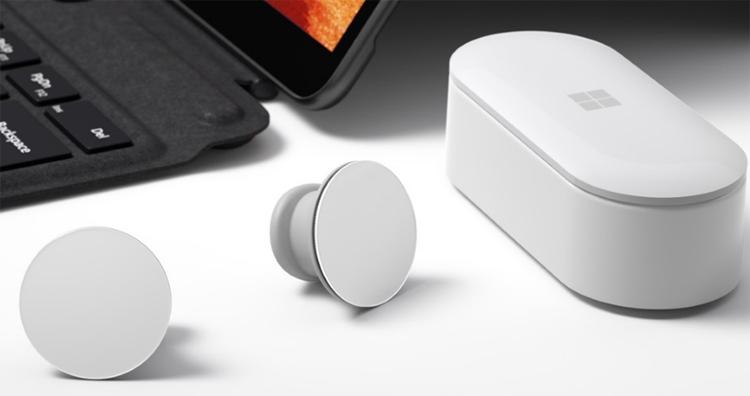 """Полностью беспроводные наушники-вкладыши Microsoft Surface Earbuds в текущем году не выйдут"""""""