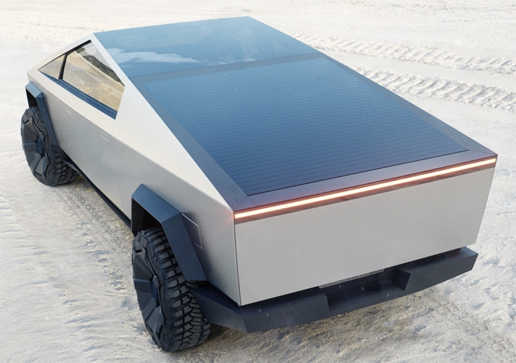 """Tesla Cybertruck: электрический пикап с угловатым кузовом и ценой от $39 900"""""""