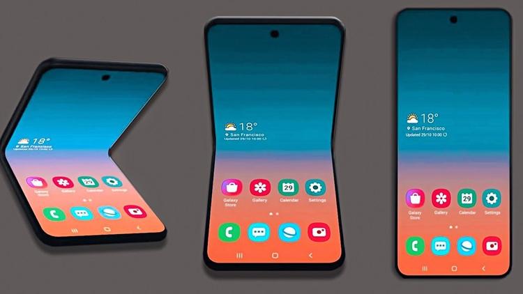 """Гибкая «раскладушка» Samsung Galaxy Fold 2 получит внешний дисплей"""""""