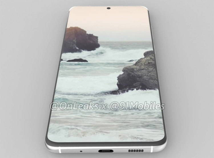 "Пентакамера и «дырявый» экран без рамок: флагман Samsung Galaxy S11 показан на рендерах"""