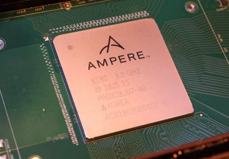 Актуальный 32-ядерный процессор Ampere eMAG