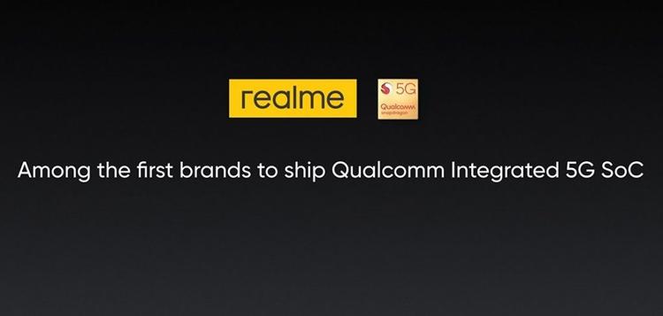 Realme X50 станет первым 5G-смартфоном компании с поддержкой SA