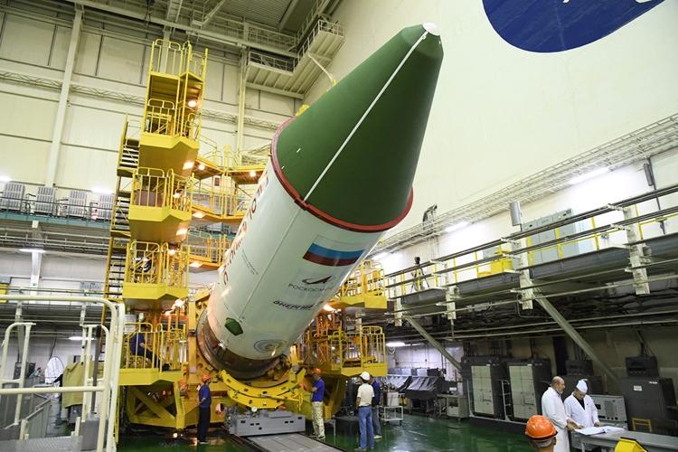 Пилотируемый корабль «Союз МС-16» прибыл наБайконур для подготовки кзапуску