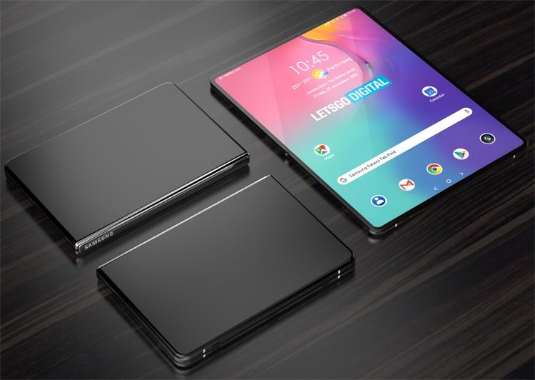 """У Samsung может появиться планшет с гибким дисплеем"""""""