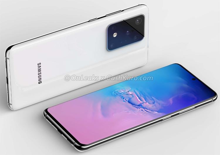 "Флагман Samsung Galaxy S11 Plus показан на рендерах и видео во всей красе"""