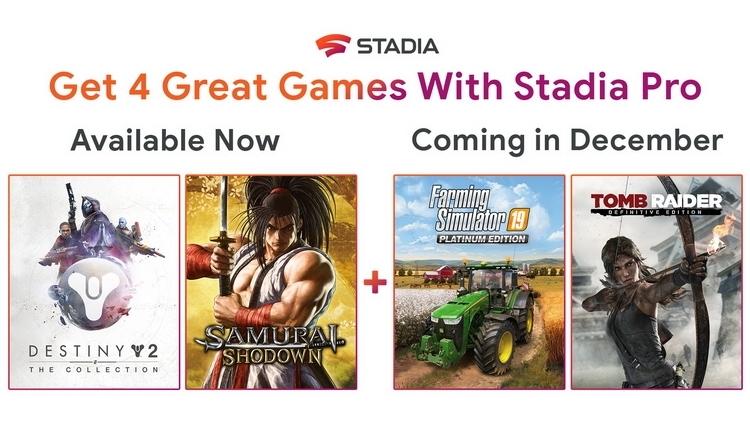 """Google вернёт деньги покупателям Tomb Raider: Definitive Edition и Farming Simulator 19 для Stadia"""""""