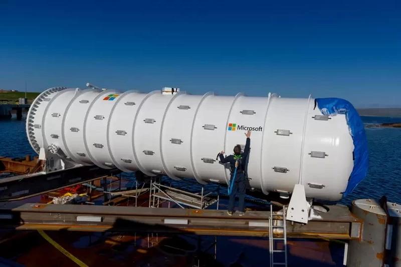 Project Natick: контейнер собран и готов к установке на морское дно
