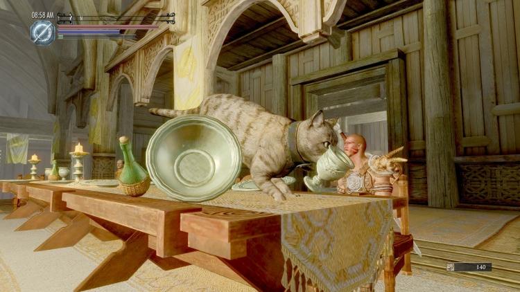 """Любителям каджитов посвящается: мод для TES V: Skyrim, позволяющий играть кошкой"""""""
