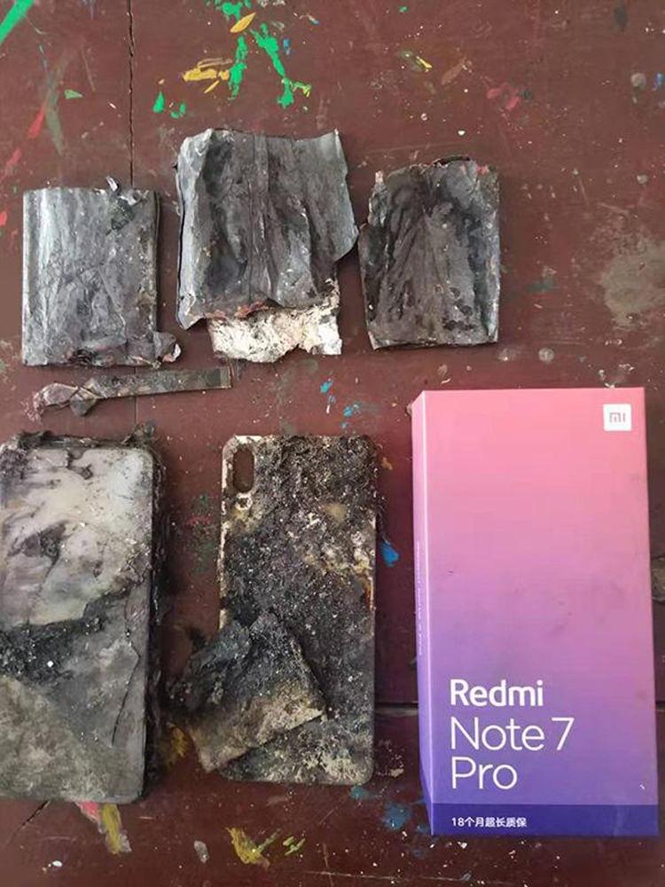 """Снова негарантийный случай: смартфон Xiaomi Redmi Note 7 Pro загорелся без видимых причин"""""""