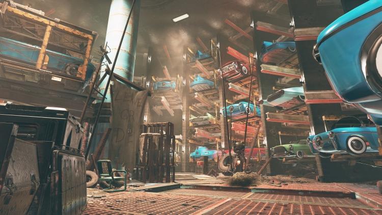 """Приют сектантов, подземелье и персонажи на скриншотах обновления Wastelanders для Fallout 76"""""""