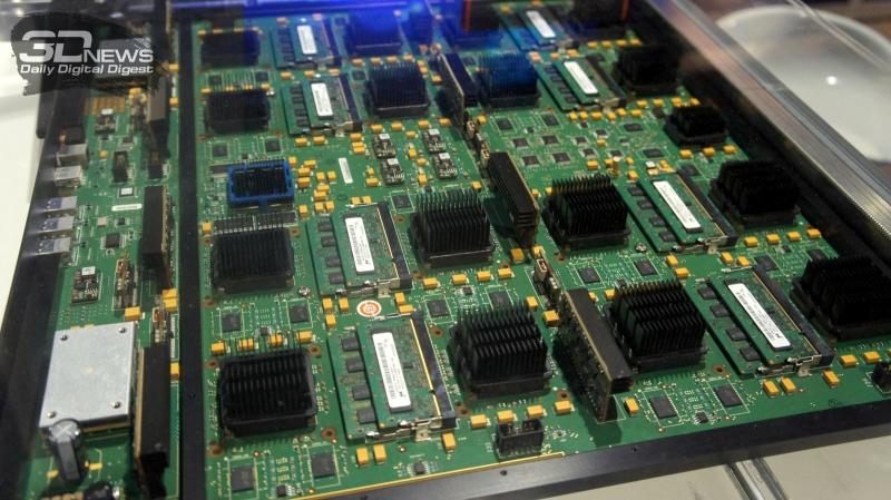 Mentor Veloce 2 — аппаратный эмулятор SoC, используется в проекте EPI Mont-Blanc 2020