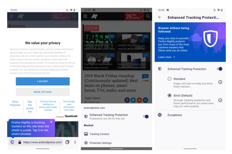 """Вышел мобильный браузер Firefox Preview 3.0"""""""