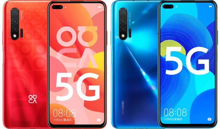 """Huawei Nova 6 5G: варианты оснащения и рендеры мощного смартфона"""""""