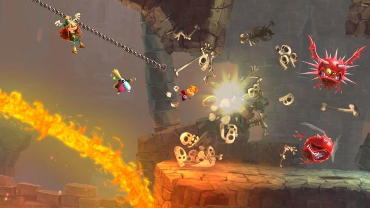 """В Epic Games Store стала временно бесплатной Rayman Legends, на очереди — Jotun: Valhalla Edition"""""""