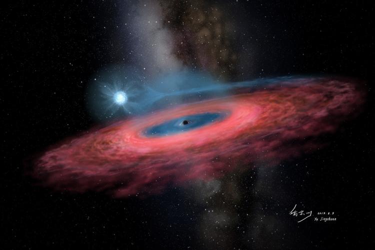 """Астрономы нашли настолько огромную чёрную дыру, что она не должна существовать"""""""