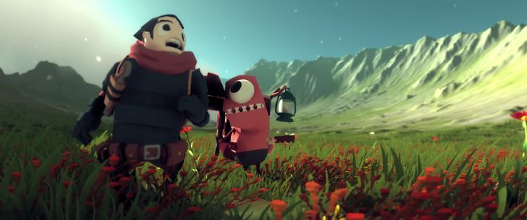 """Видео: зимняя прогулка по заснеженным просторам в долгострое Little Devil Inside"""""""