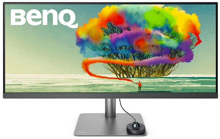 "BenQ PD3420Q: большой монитор формата WQHD для дизайнеров"""