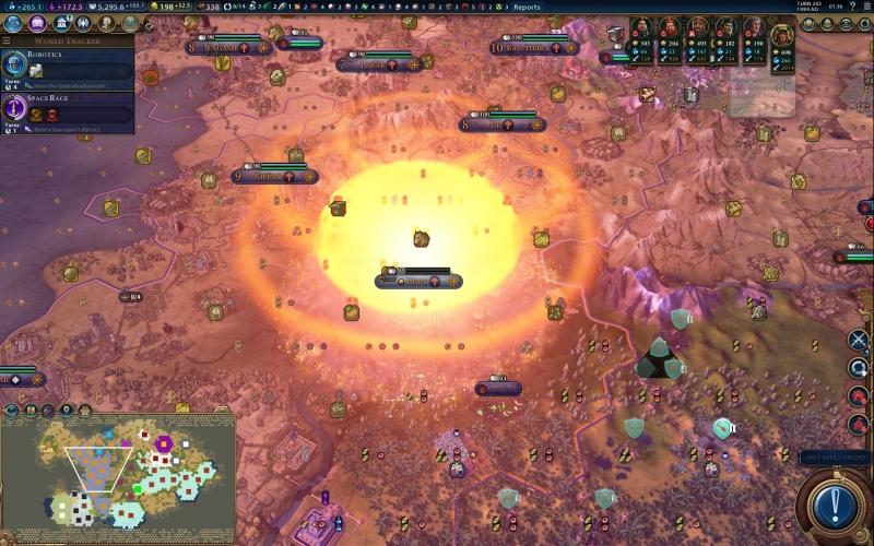 """2K Games нашла временное решение проблемы вылетов Civilization VI на Switch — объявлять войну"""""""