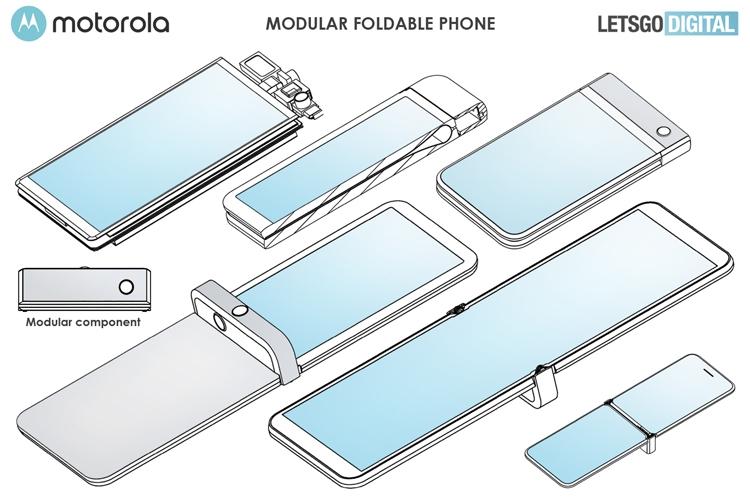 """Новый гибкий смартфон Motorola razr может получить модульную конструкцию"""""""