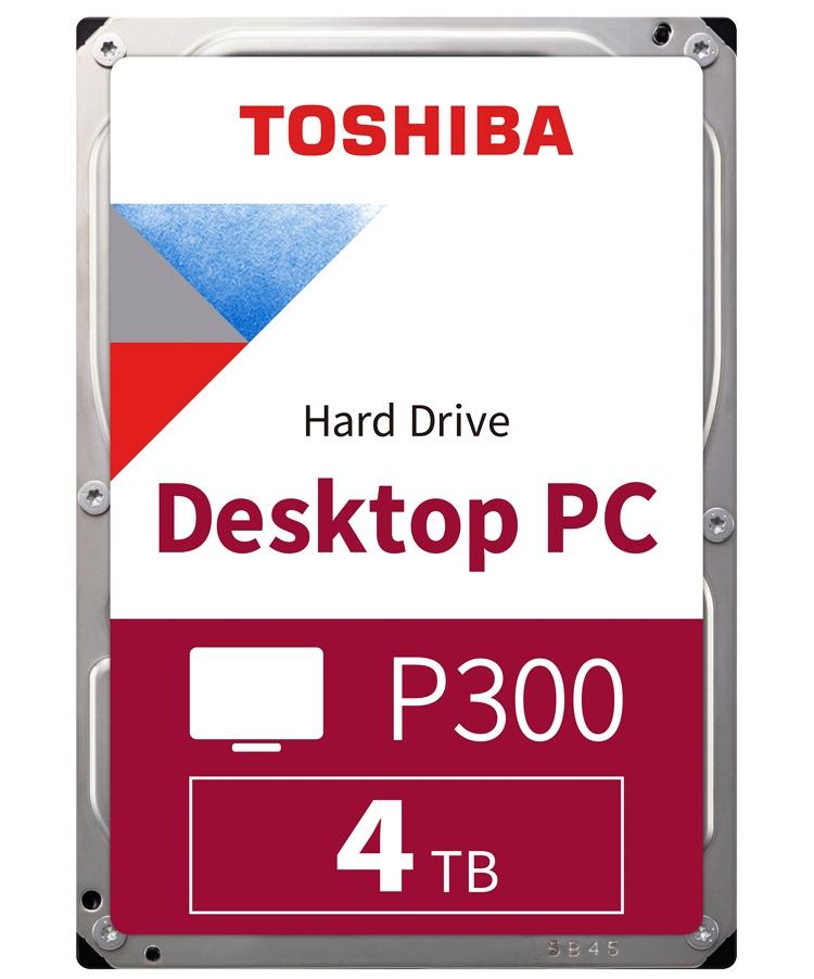 """Ёмкость жёстких дисков Toshiba P300 достигла 6 Тбайт"""""""