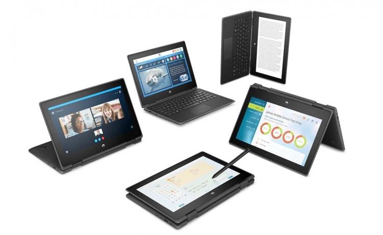"""HP анонсировала ноутбуки-трансформеры для учащихся — HP ProBook x360 11 G5 EE и HP ProBook x360 11 G6 EE"""""""