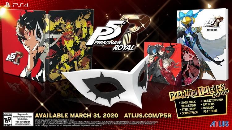 """Persona 5 Royal выйдет 31 марта 2020 года, серия достигла свыше 11,1 млн проданных копий"""""""