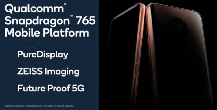 """Nokia анонсирует смартфон с чипом Qualcomm 765 и поддержкой 5G в первом квартале 2020 года"""""""