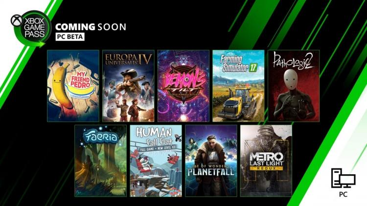 """В декабре подписчики Game Pass получат доступ к 17 новым играм"""""""