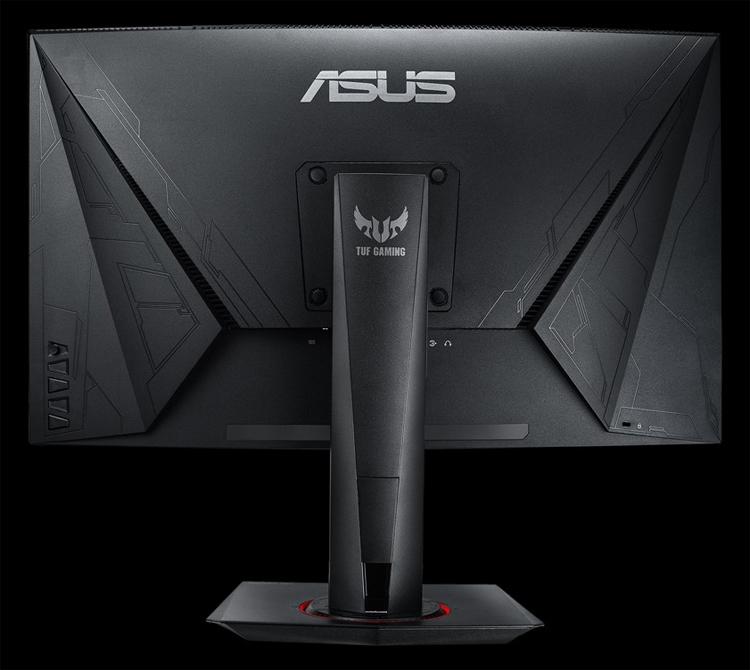 """Монитор ASUS TUF Gaming VG27WQ имеет вогнутую форму"""""""