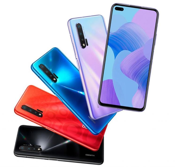 """Смартфоны Huawei Nova 6 и Nova 6 5G получили «дырявый» экран с двойной селфи-камерой"""""""