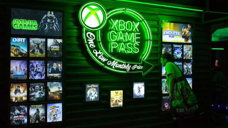 Подписчики Xbox Game Pass получают доступ к библиотеке из сотен игр Microsoft и её партнёров