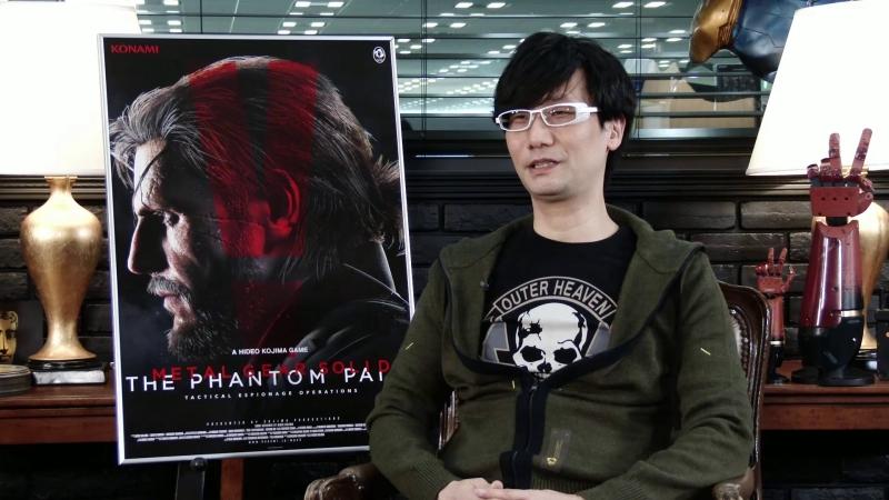 После ухода из Konami Кодзима не раз говорил, что не держит зла на бывшего работодателя