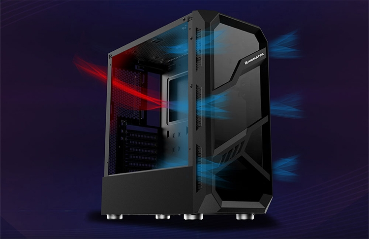 """Xigmatek Lamiya: ПК-корпус со стеклянными панелями для игровой системы"""""""