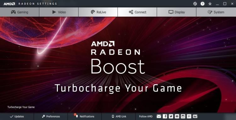 """Утечка: драйвер Radeon Software 2020 скоро принесёт интеллектуальную технологию Radeon Boost"""""""