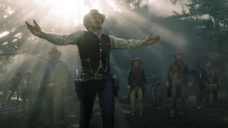 В рейтинге продаж Steam за прошедшую неделю Red Dead Redemption 2 заняла три позиции