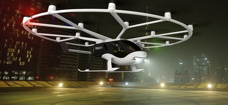 """Volocopter получила разрешение на проектную деятельность: теперь полетим"""""""