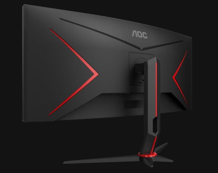 """Игровые мониторы AOC CU34G2 с поддержкой AMD FreeSync обладают временем отклика в 1 мс"""""""