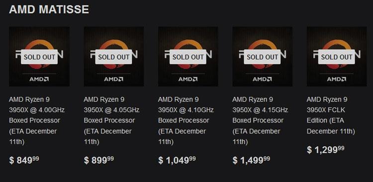 Шанс разогнать все 16 ядер AMD Ryzen 9 3950X до 4,1 ГГц выше, чем 50 на 50