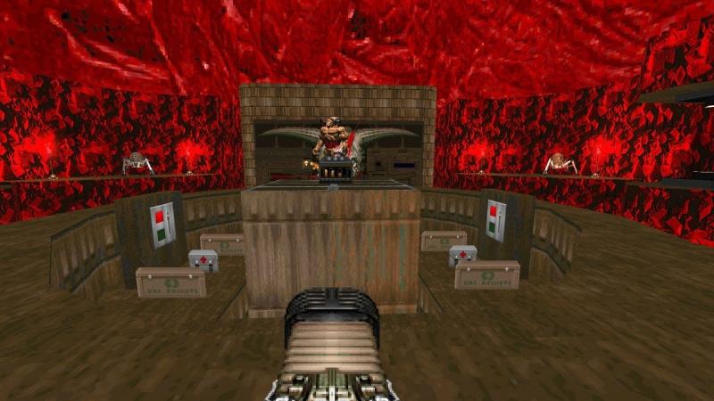 Скриншот из Final Doom