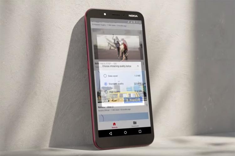 """Nokia C1: смартфон за $60 на базе Android Pie Go Edition"""""""