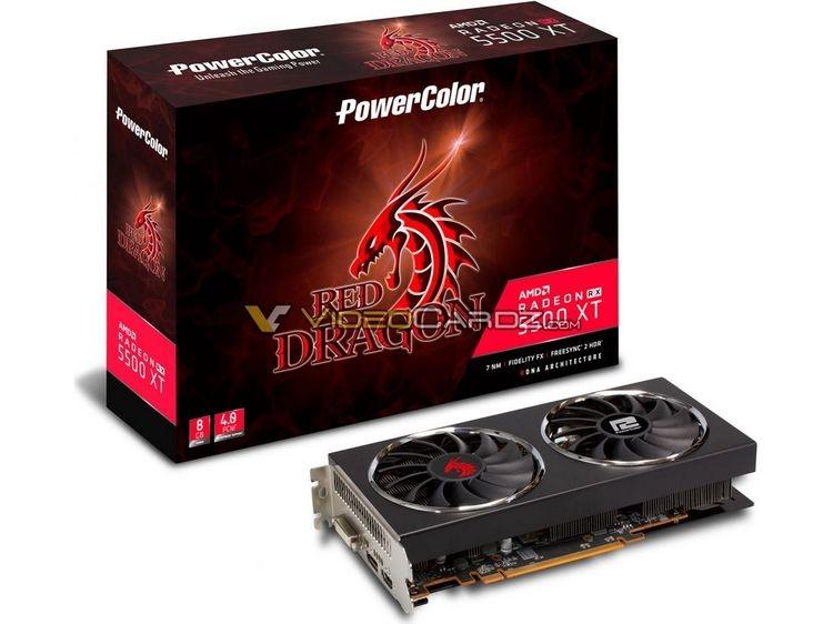 """Меньше $200: в преддверии анонса выяснились цены Radeon RX 5500 XT"""""""