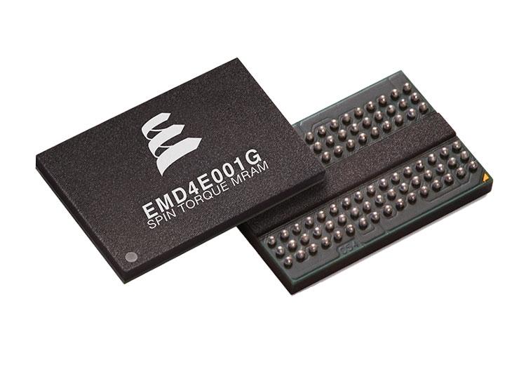 1-Гбит 28-нм микросхемы памяти STT-MRAM компании Everspin