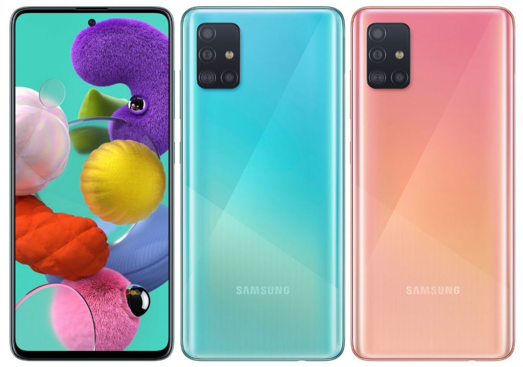 "Samsung представила Galaxy A51: 6,5"" Infinity-O AMOLED, 8 Гбайт и 48-Мп камера"""