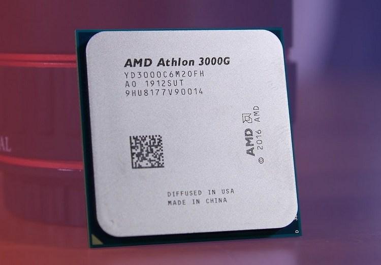 """AMD Athlon 3000G всё же построен на ядрах Zen первого поколения"""""""