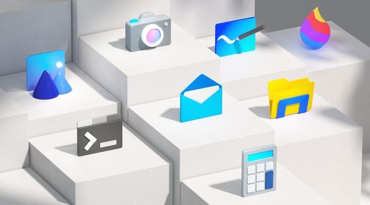 """Microsoft раскрыла дизайн нового логотипа Windows и 100 обновлённых иконок приложений"""""""
