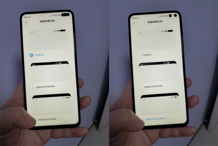 """У смартфонов Xiaomi Redmi K30 оказалось два отверстия в экране, а не одно"""""""