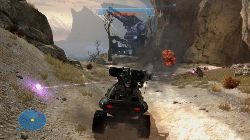 Покатушки на «Вепрях» сквозь взрывы — классическое развлечение для Halo