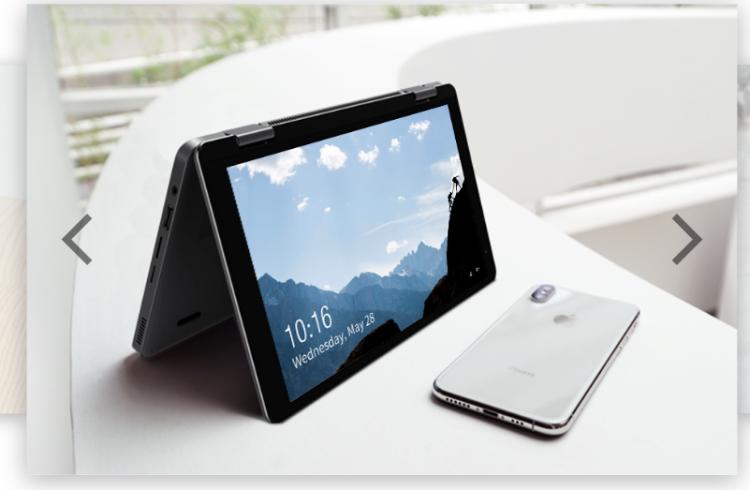 """CHUWI MiniBook — миниатюрный ноутбук-трансформер c процессором Intel"""""""