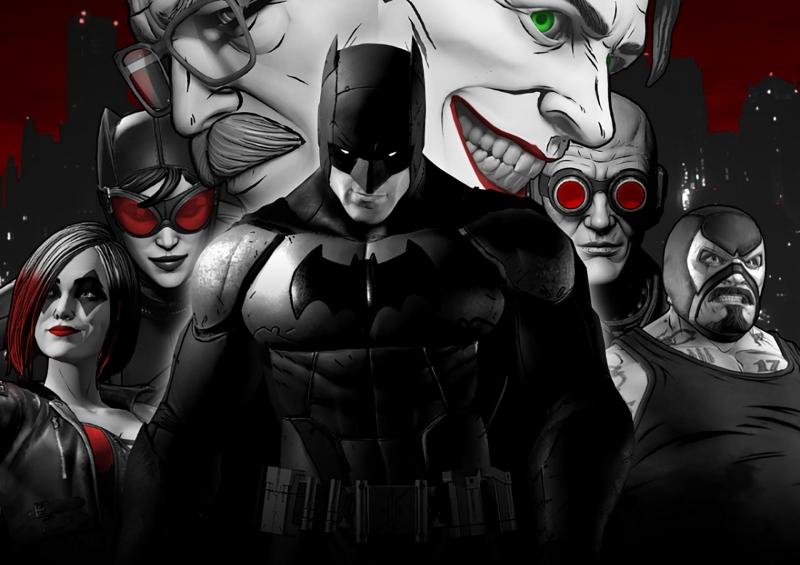 Предполагаемая обложка The Telltale Batman Shadows Edition