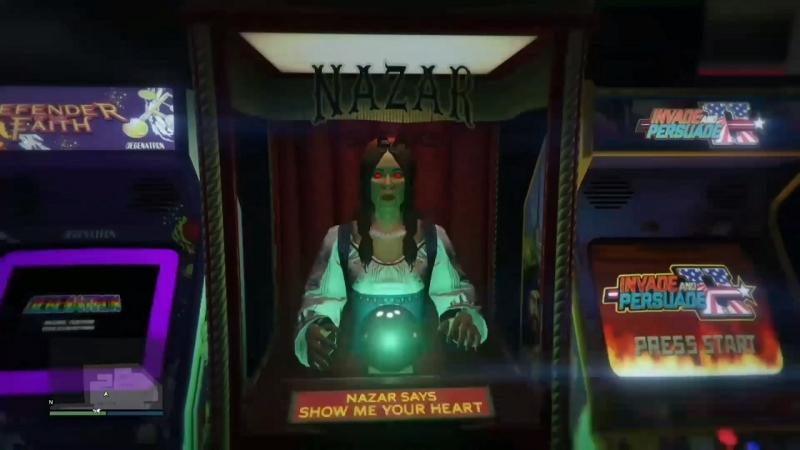 Робот-прорицатель из GTA Online выглядит как Мадам Назар — один из персонажей онлайн-режима Red Dead Redemption 2